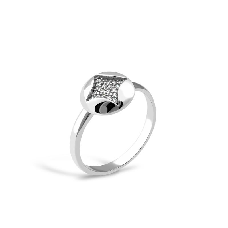 Серебряное кольцо 716