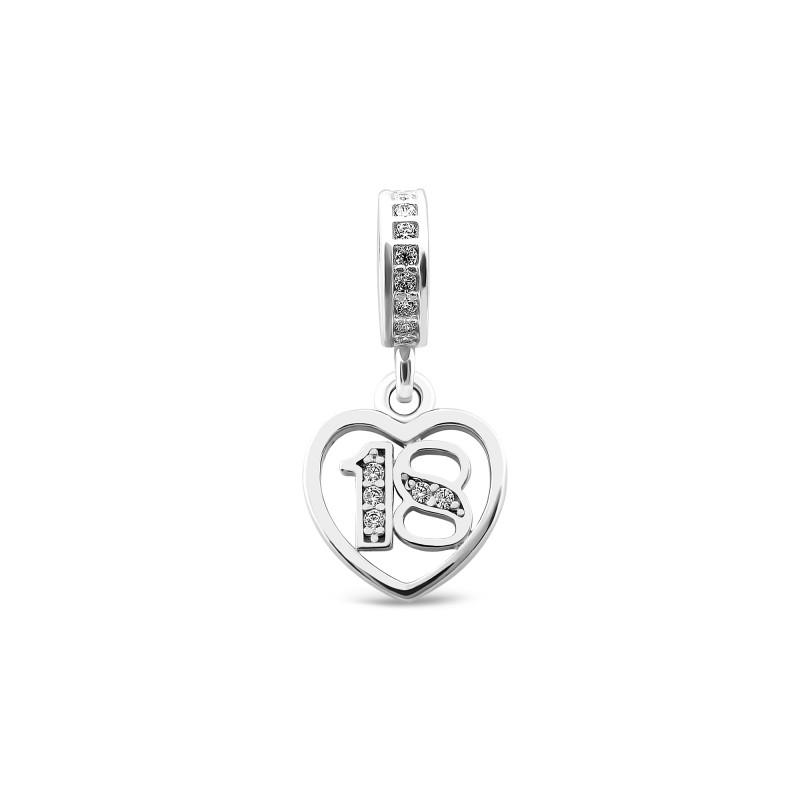 Серебряная подвеска Сердце 974