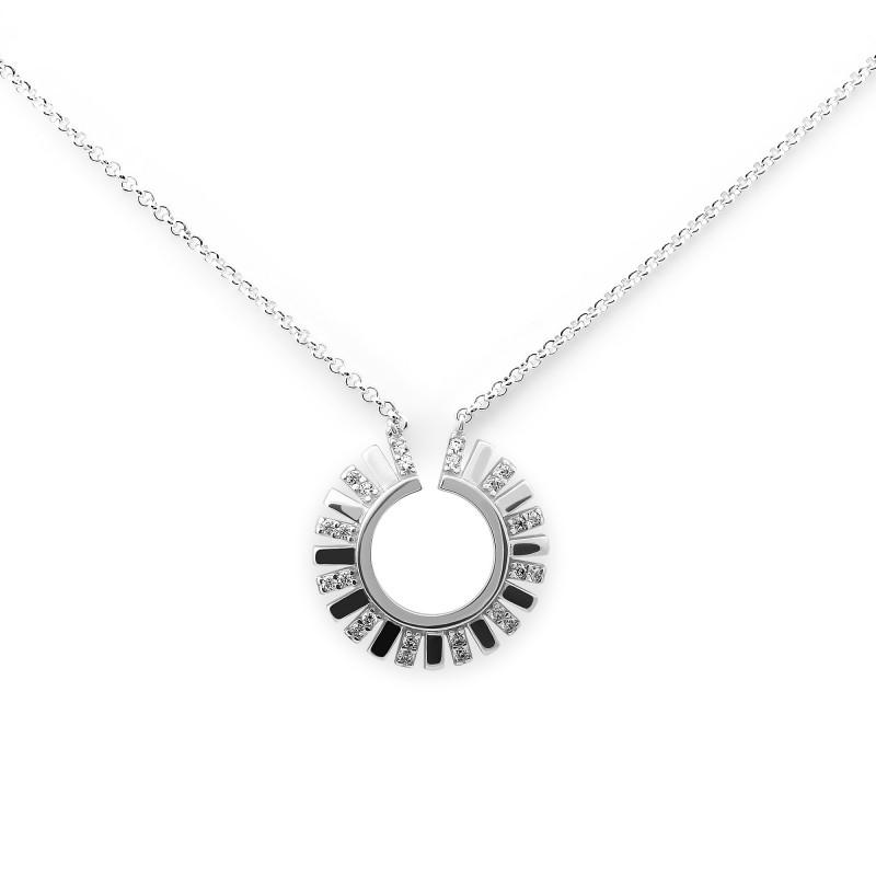 Серебряное колье 1026