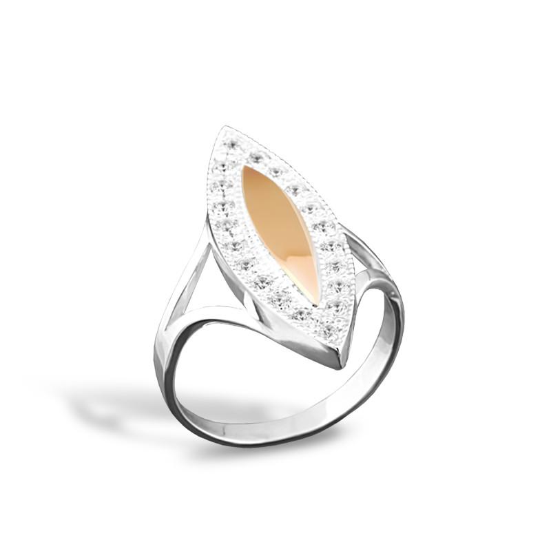 Серебряное кольцо 004