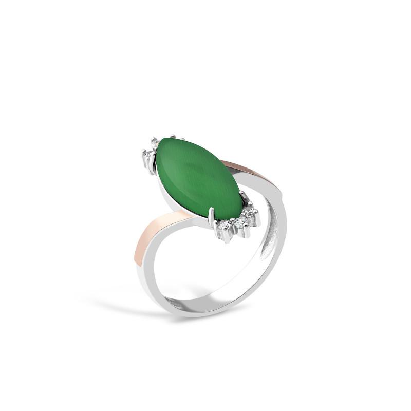 Кольцо с улекситом 629