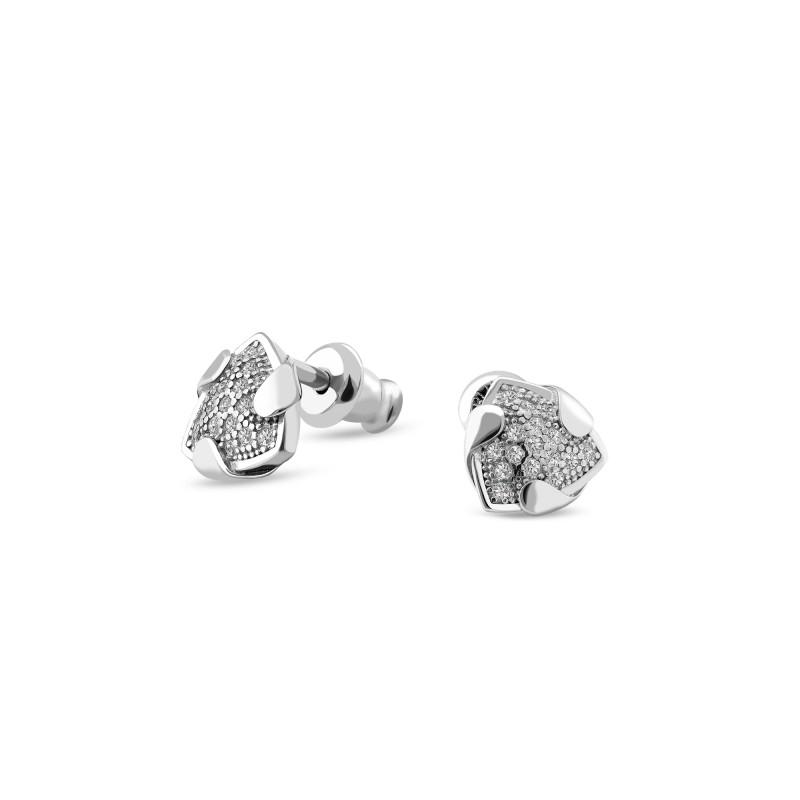 Серебряные серьги 936