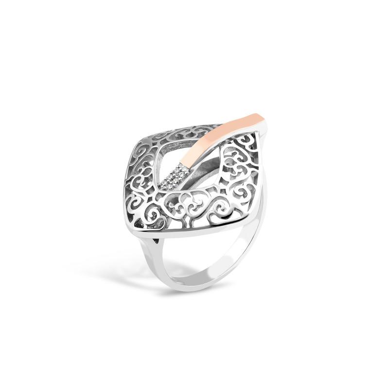 Серебряное кольцо 710