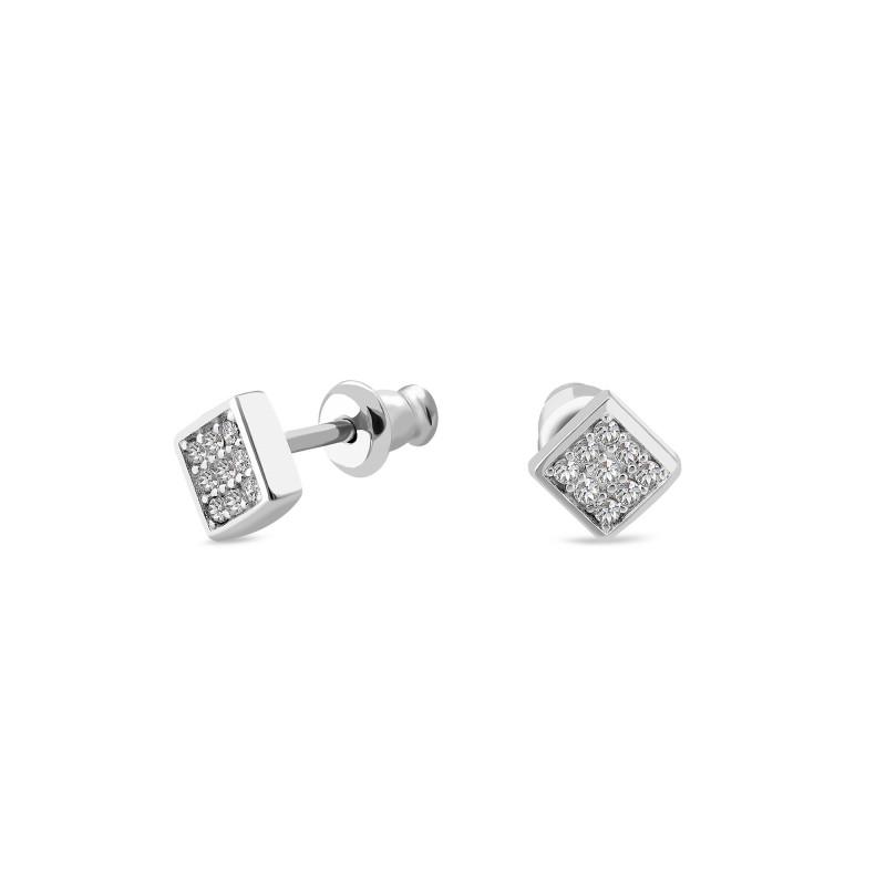 Серебряные серьги 1054