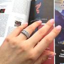 Серебряное кольцо 491 2