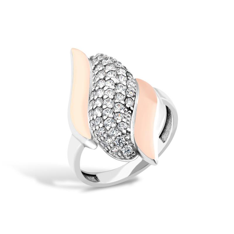 Серебряное кольцо 222