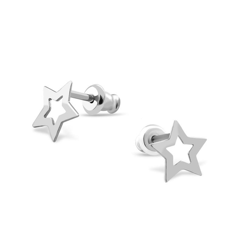 Серебряные серьги 593