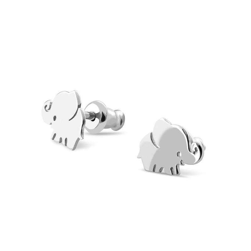 Серебряные серьги 594