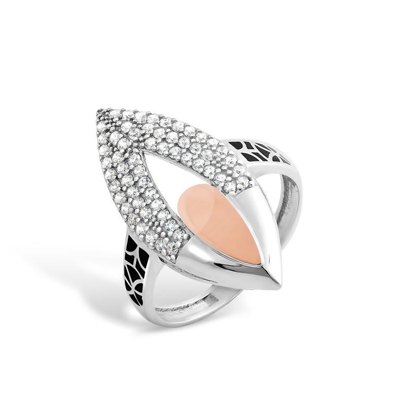 Кольцо с эмалью 245