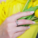 Серебряное кольцо 849 2