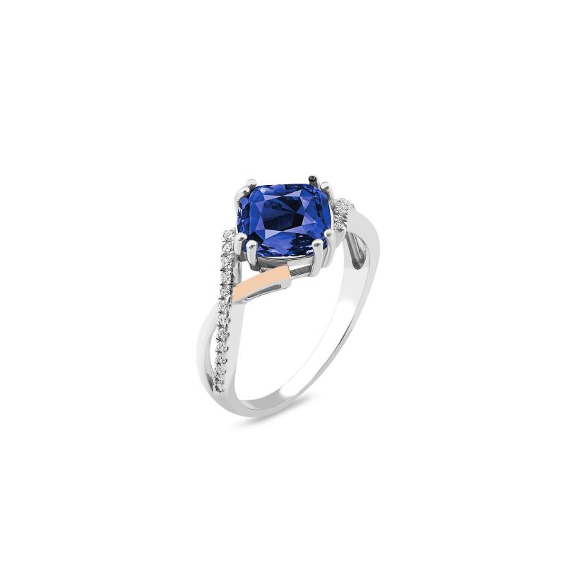 Кольцо со шпинелью 549