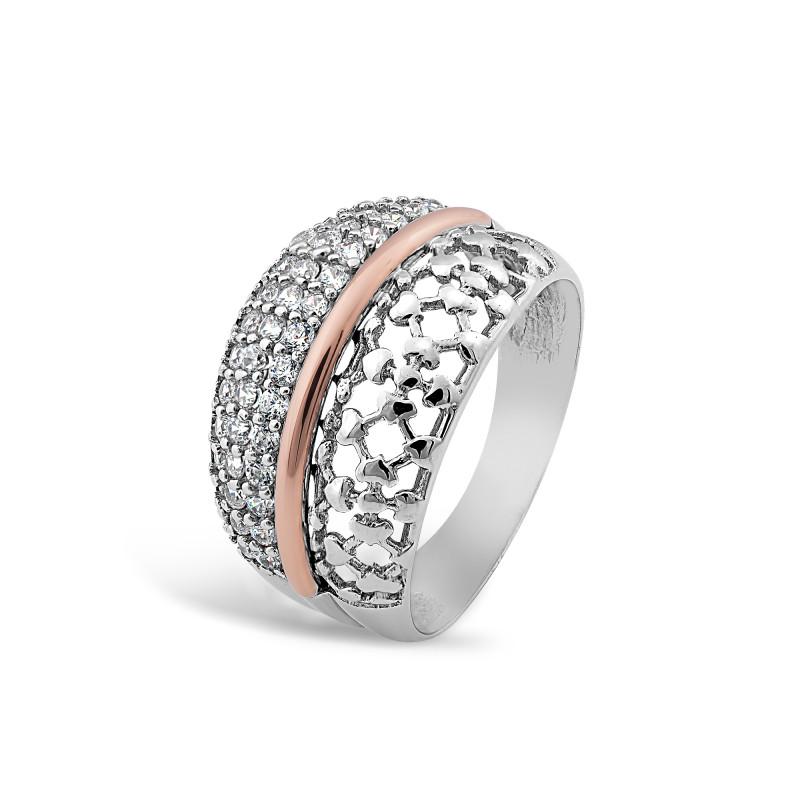 Серебряное кольцо 411