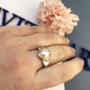 Кольцо с жемчугом 244 2
