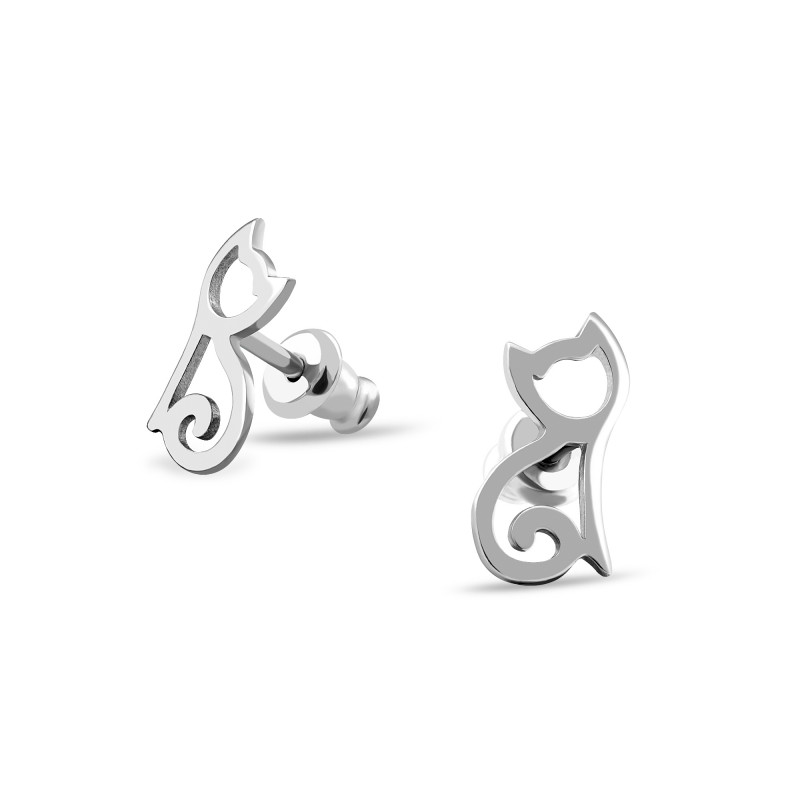 Серебряные серьги 581