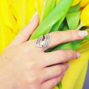 Серебряное кольцо 205 2