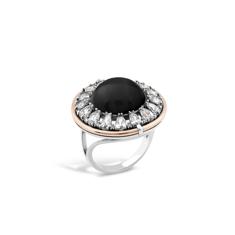 Кольцо с ониксом 625