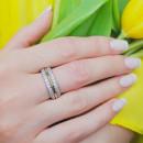 Серебряное кольцо 464 2