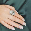 Серебряное кольцо 204 2