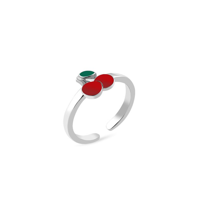 Кольцо с эмалью 1129