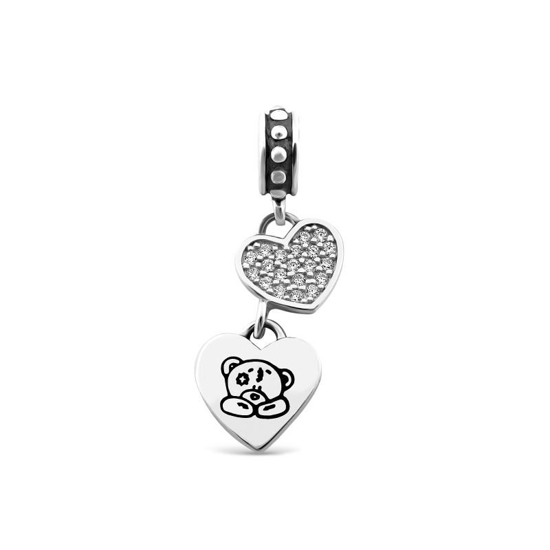 Серебряная подвеска Сердце 471