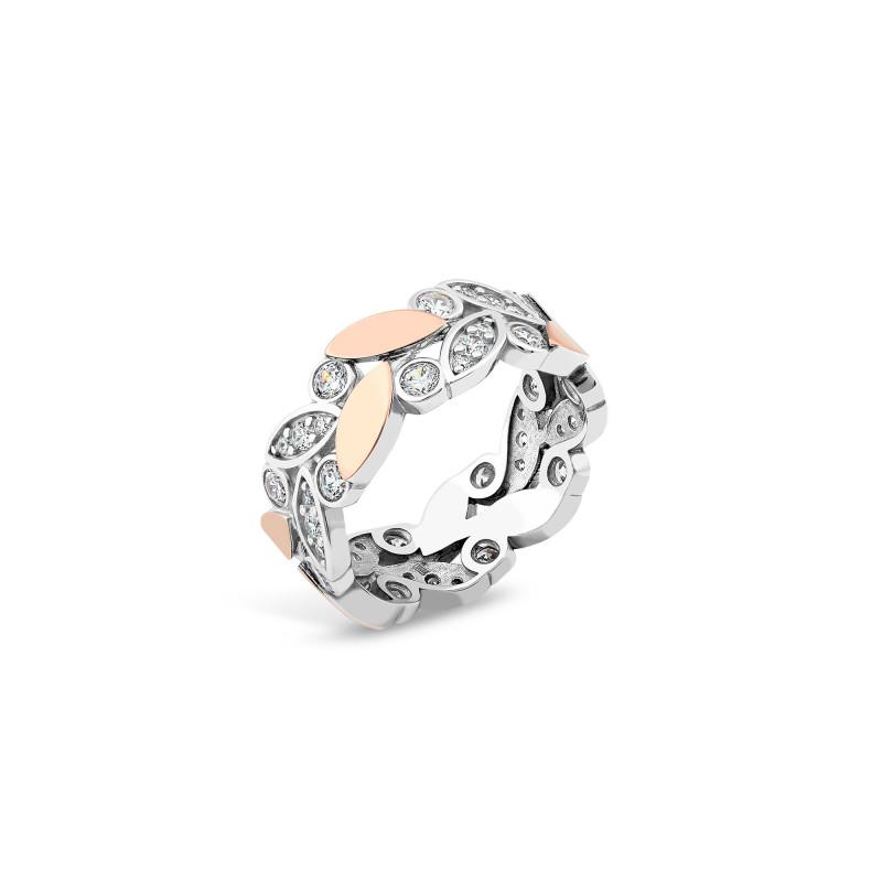 Серебряное кольцо 872
