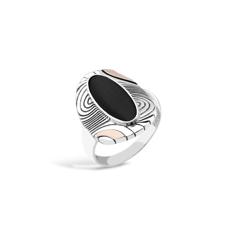 Кольцо с ониксом 202