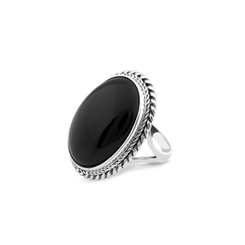 Кольцо с ониксом 119