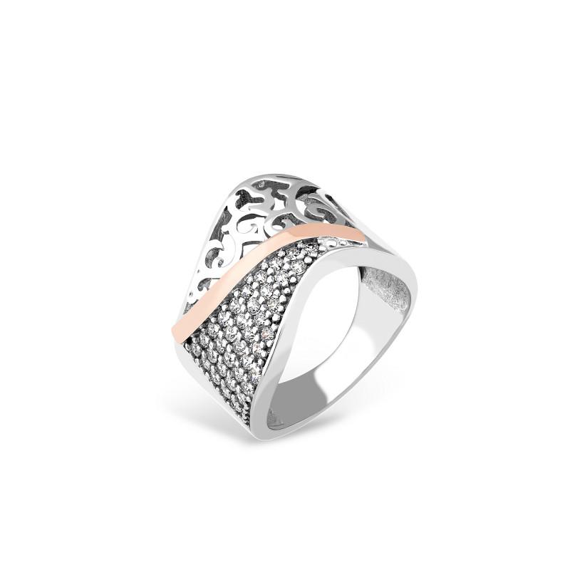 Серебряное кольцо 230