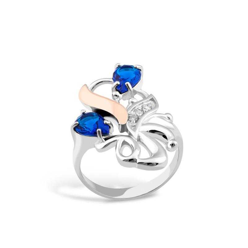 Кольцо со шпинелью 063
