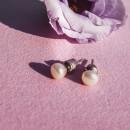 Серьги с жемчугом 070-жем 2