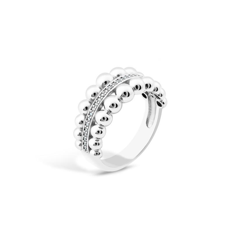 Серебряное кольцо 491