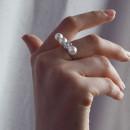 Кольцо с янтарем 905 2