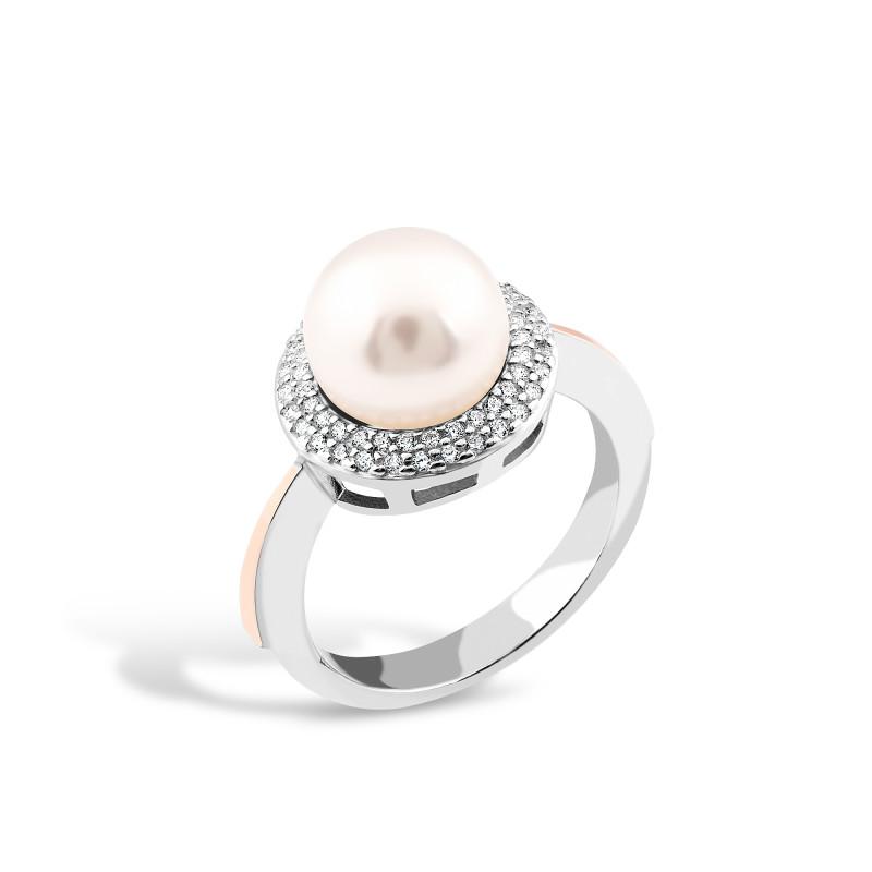 Кольцо с жемчугом 540