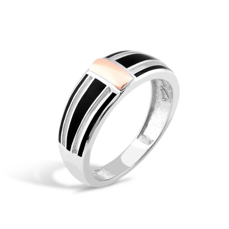 Кольцо с эмалью 272