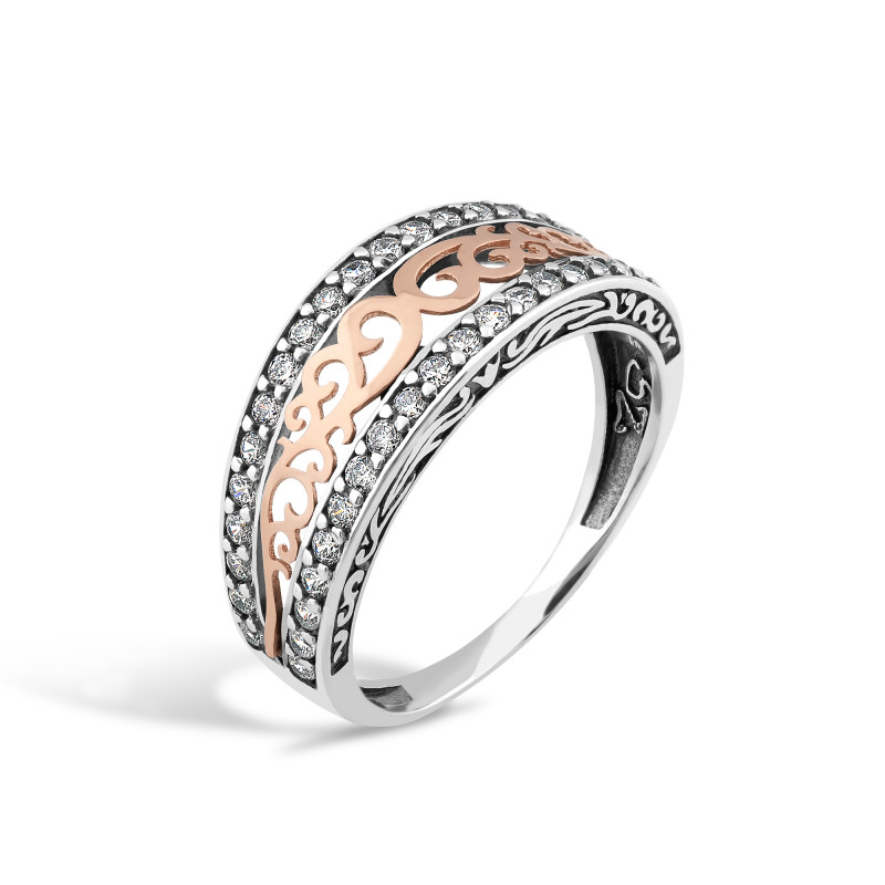 Серебряное кольцо 238