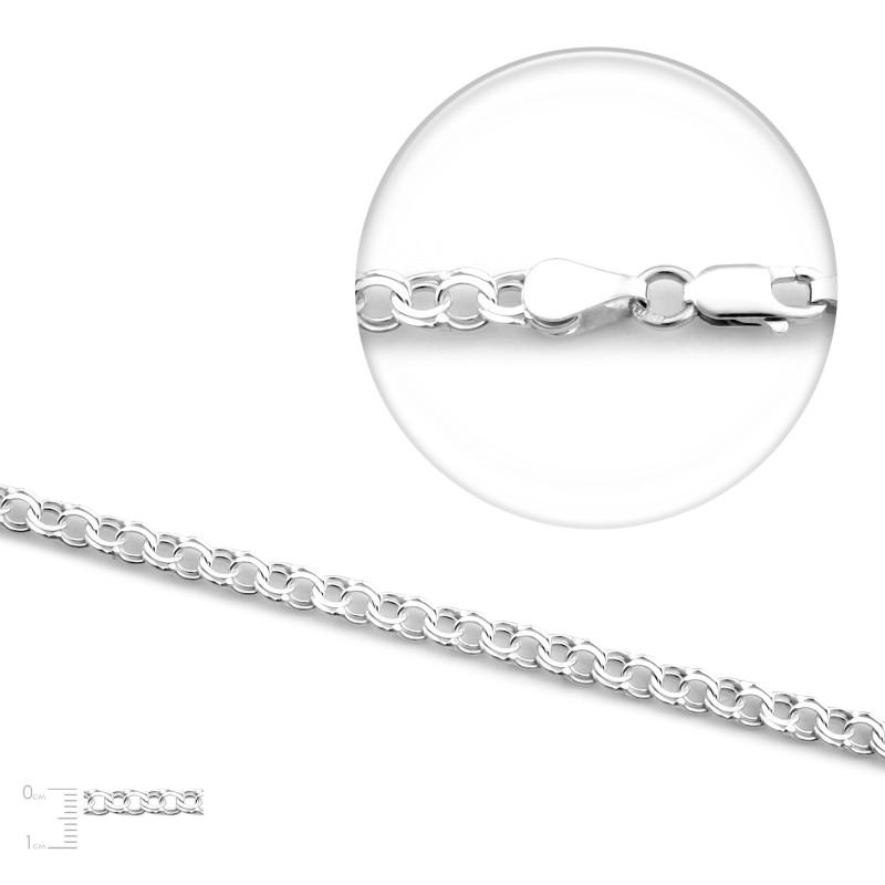 Серебряная цепь GB 60
