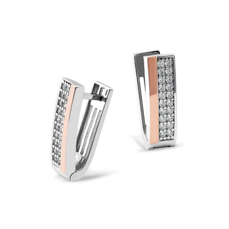 Серебряные серьги 158