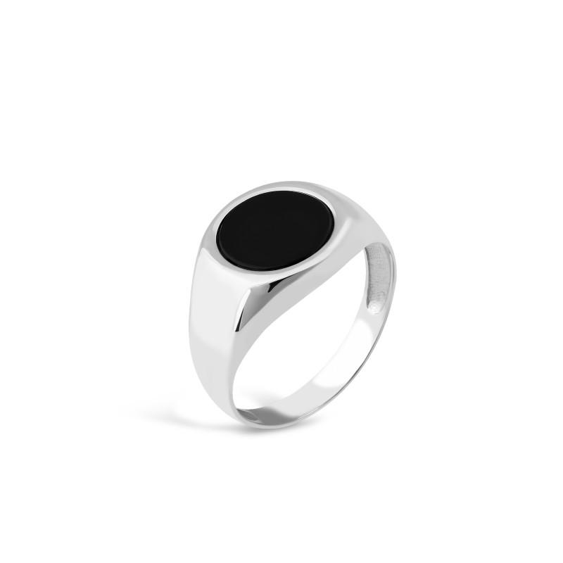 Кольцо с ониксом 634