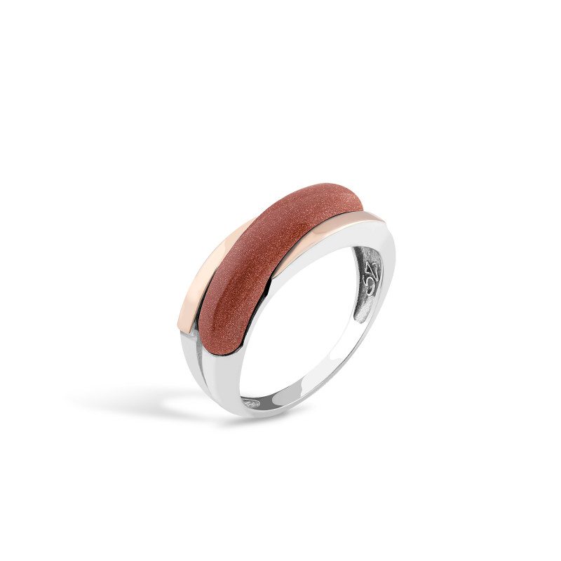 Кольцо с авантюрином 248