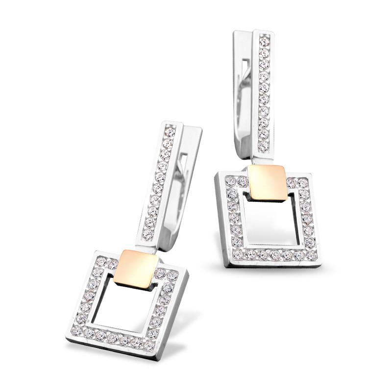 Серебряные серьги 150