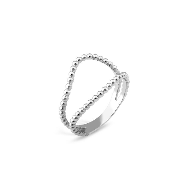 Серебряное кольцо 911