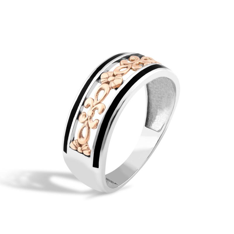 Кольцо с эмалью 299