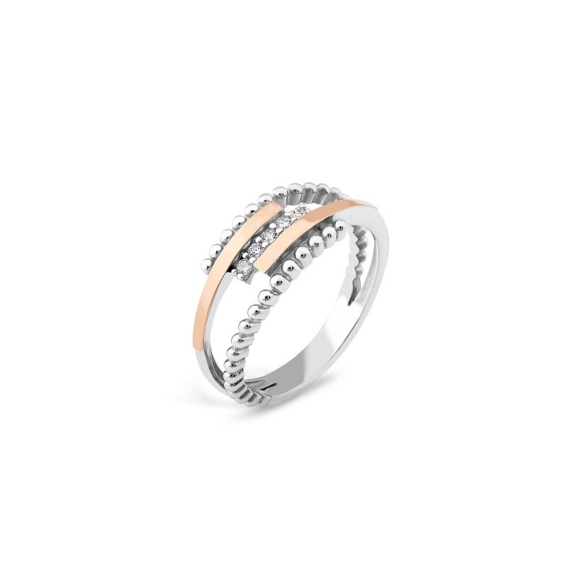 Серебряное кольцо 530