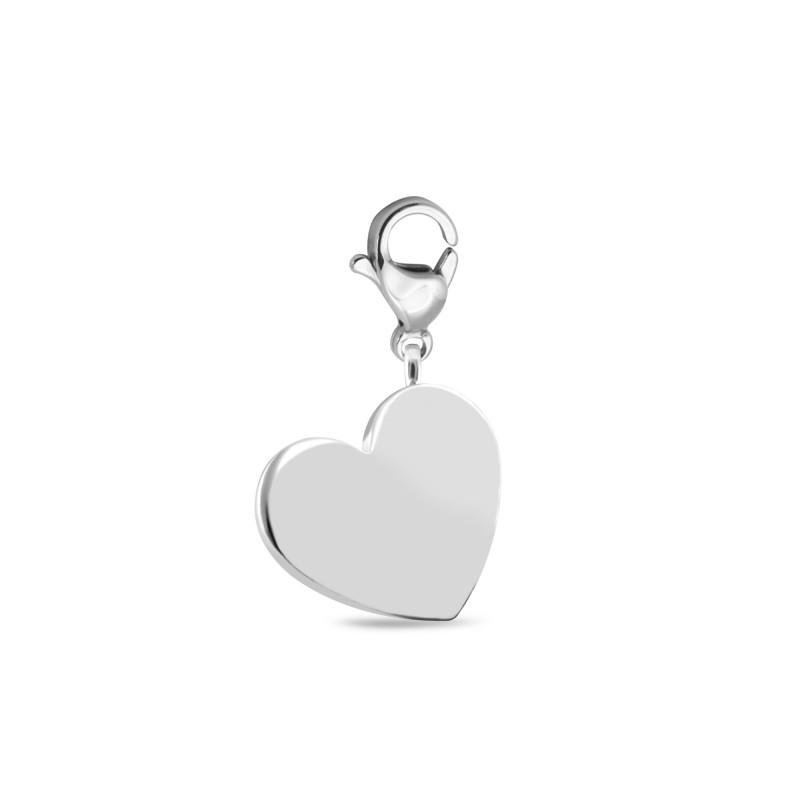 Серебряная подвеска Сердце 573