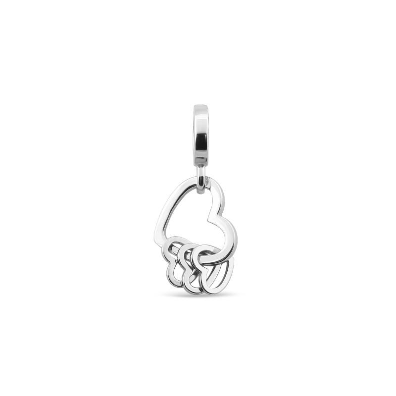 Серебряная подвеска Сердце 930