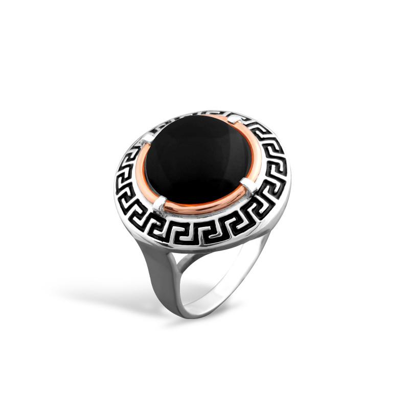 Кольцо с ониксом 257