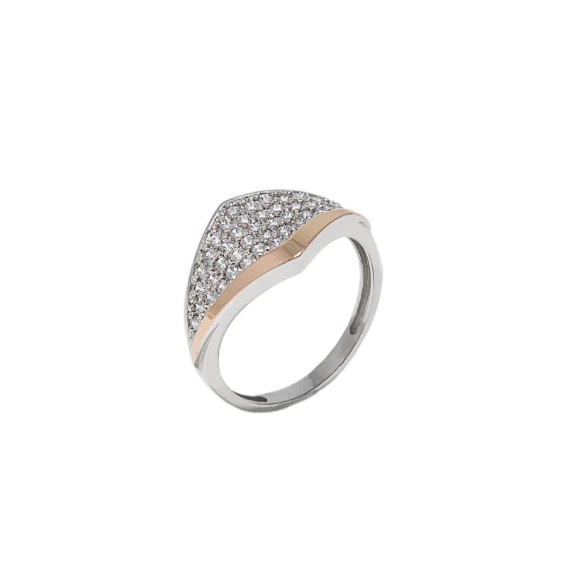 Серебряное кольцо 731