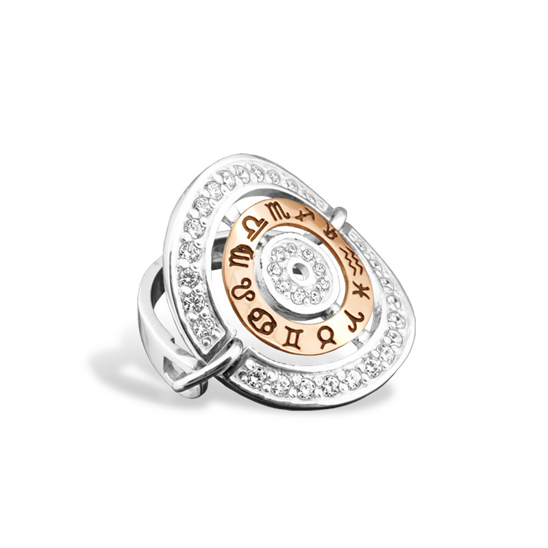 Серебряное кольцо 022 (ZA)