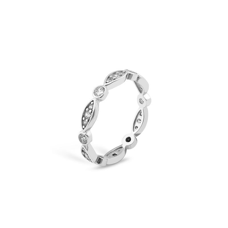 Серебряное кольцо 868