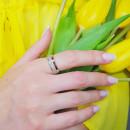 Серебряное кольцо 158 2